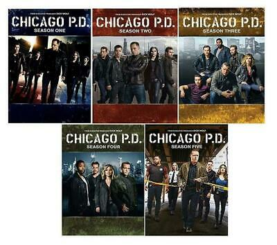 Chicago P.D. PD: The Complete Series Season 1-5 6 (DVD, 2018, Box Set) New