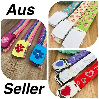 Girls Belts Girls Accessories With Buckle