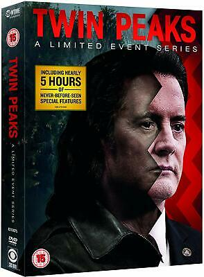 TWIN PEAKS (2017) A Limited Event 'The Return' - TV Season Series NEW US Rg1 DVD