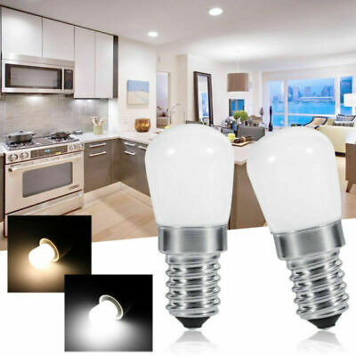 2/4PCS Energy Saving LED Bulbs Fridge Freezer Appliance Pygmy Light E14 Sockets