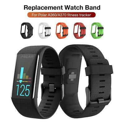 Silicone Strap Wristband Watch Band For Polar A360 A370 GPS Smart Watch A