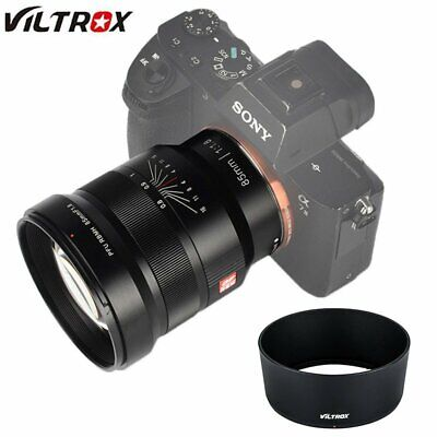 Viltrox PFU RBMH 85mm F1.8 MF Full Frame Manual Prime Lens per Sony FE E mount