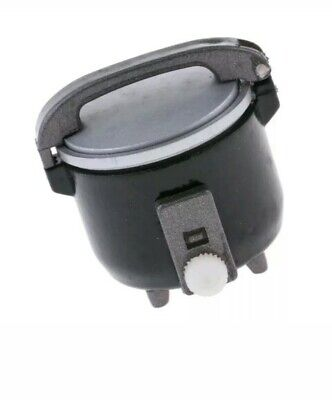 1:12th Miniature Doll House Accessories Mini Rice Cooker Black