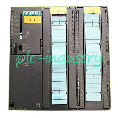 Siemens Used 6ES7 314-6CF02-0AB0 CPU Module 6ES73146CF020AB0 Tested Good