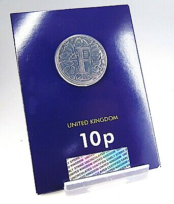 LETTER F (Fish And Chips) Early Strike 10p Coin BU Uncirculated Sealed 2018