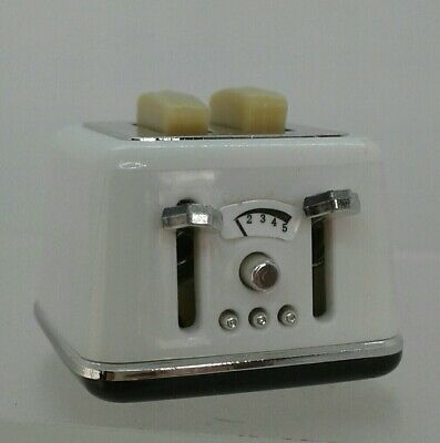 1:12th Miniature Doll House Accessories Mini Toaster