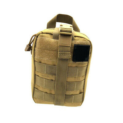 Portable MOLLE Rip-Away Tactical Medical Pouch First Aid Bag EMT IFAK Kit Bag