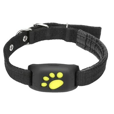 GPS Pet Tracker Collar Dog Cat Finder Tracer Tracking Collars Water Resistant..