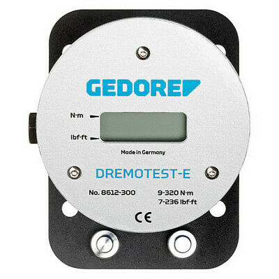 GEDORE 8612-300 Electronic Torque Tester,9-320 Nm