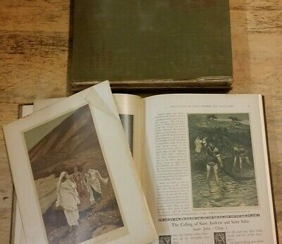 VOL I&II THE LIFE OF OUR LORD JESUS CHRIST by J.JAMES TISSOT  **FREE UK POST**HB