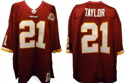 f21587e3 75th 2007 Sean Taylor #21 Redskins Mens Size 56 3XL Mitchell & Ness Jersey  $300