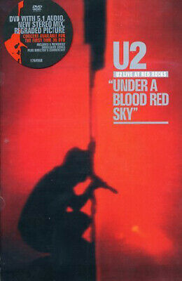 U2 Live At Red Rocks Under A Blood Red Sky 1983 Dvd Rock Music New