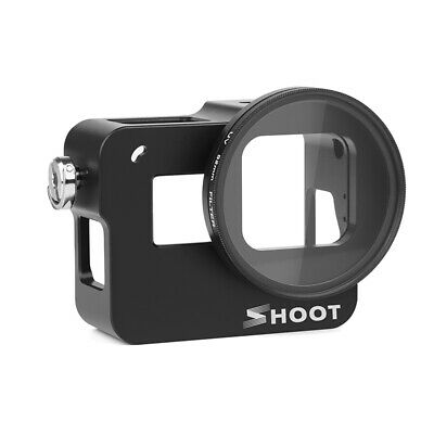 For Gopro Hero 7 Camera Protect Housing Cage Case UV Lens Shockproof Accessories