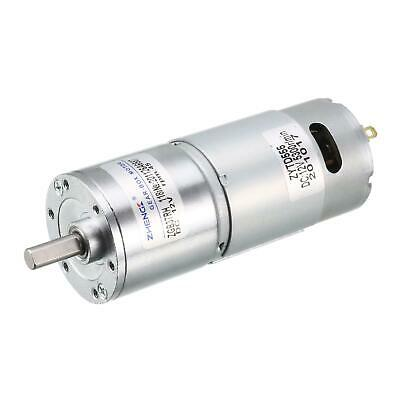 12V DC 40 RPM Gear Motor High Torque Reduction Gearbox Eccentric Output Shaft