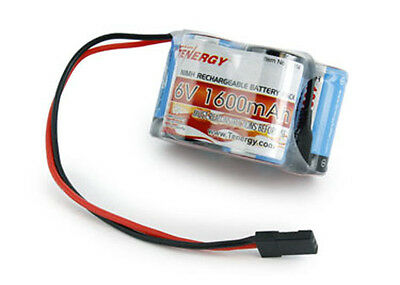 Tenergy 5 Cell 6V 1600mAh NiMH Hump Receiver Battery Pack For Savage X 4.6 XL 2