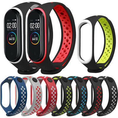 Silicone Bracelet Wrist Strap Replacement  Smart Band for Xiaomi Mi Band 4/3 Top