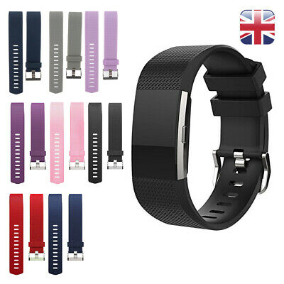Replacement Strap For FitBit Charge 2 Sports Bracelet Watch Wristband Band Large