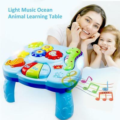 Baby Fun Toys Musical Learning Table Activity Center Game Toddler Infant Kids UK