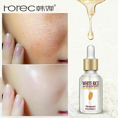 HOREC White Rice Whitening Serum Face Moisturizing Cream Anti Wrinkle Anti Aging