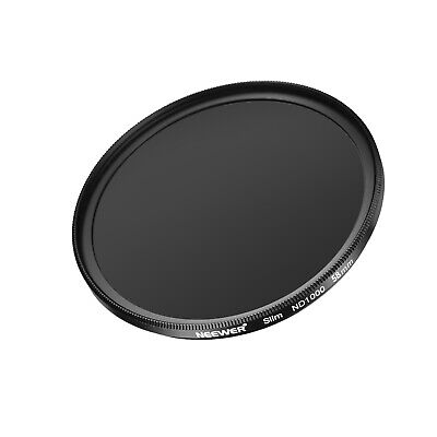 Neewer 58MM Neutral Density ND 1000 Camera Lens Filter Optical Glass and Flame