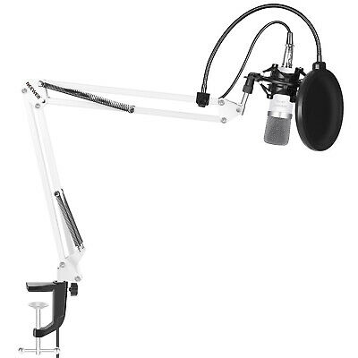 Neewer NW-700 Microphone Kit includes Microphone+Stand+Pop Filter+Shock Mount