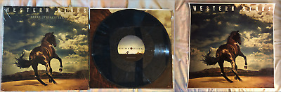 Bruce Springsteen – Western Stars, Dark Blue Color Lp With Official Poster