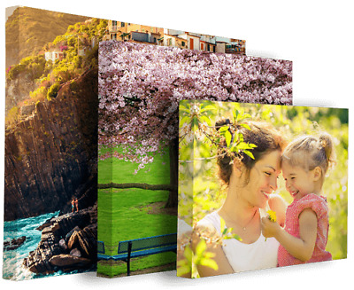 Canvas Print Your Personalised Photo Picture on Scratch Resistant EcoSolvent Ink