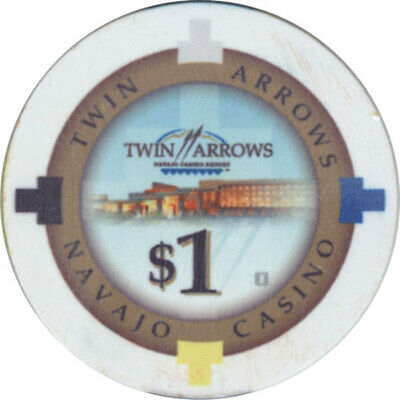 Twin Arrows Casino - $1 Casino Chip