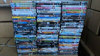 100 Pre Loved DVDs, Wholesale | Mixed Category Bundle | FREE DELIVERY!