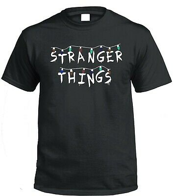 Stranger Things T shirt Netlfix Hawkins Retro Unisex TV Show Upside Down ST06