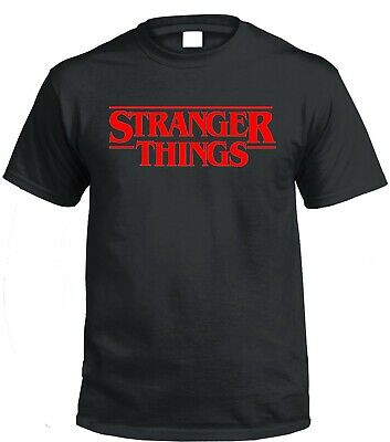 Stranger Things T shirt Netlfix Hawkins Retro Unisex TV Show Upside Down ST12