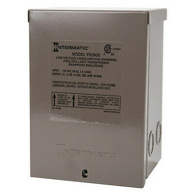 INTERMATIC PX300S Transformer,1 Phase,300VA,12V Out