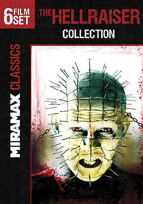 The Hellraiser Collection [III: Hell on Earth / IV: Bloodline / V: Inferno / VI: