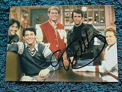 HAPPY DAYS TV Show Trading Card AUTOGRAPHED Hand Signed ANSON WILLIAMS Potsie