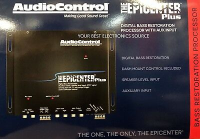 NEW Audio Control EPICENTER PLUS Bass Restoration Processor with OEM Integration