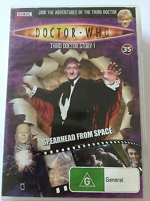 DOCTOR WHO Third Doctor Story 1 Spearhead From Space DVD #35