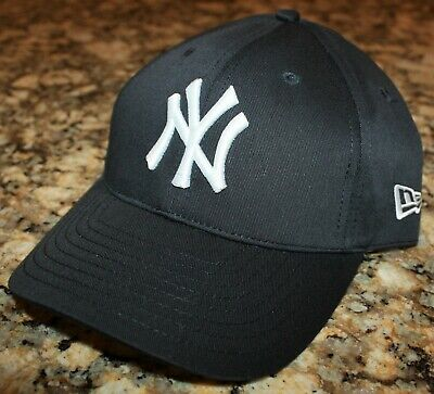 d01884fde261e3 VINTAGE BLUE MARLIN Baseball 1935 New York NY Black Yankees Cap Hat ...