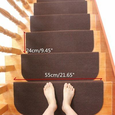 Carpet Stair Tread Mats Step Staircase Floor Mat Non Slip Cover Pads