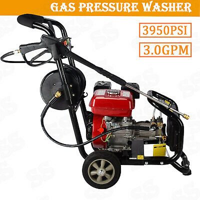 3950PSI Electric Pressure Washer 1800w Cold Water Cleaner Hose Reel Auto Jet Kit