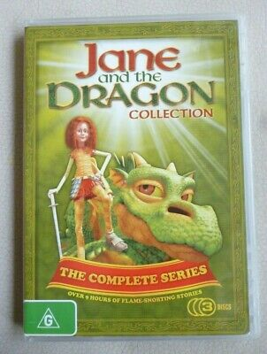 JANE AND THE Dragon Rare Deleted Dvd Dragon Diva Nelvana Animation