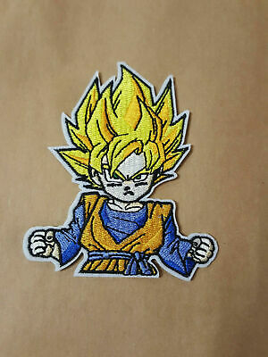 Dragonball Aufnäher Patches Bügelbild Anime Applikation Son Goten