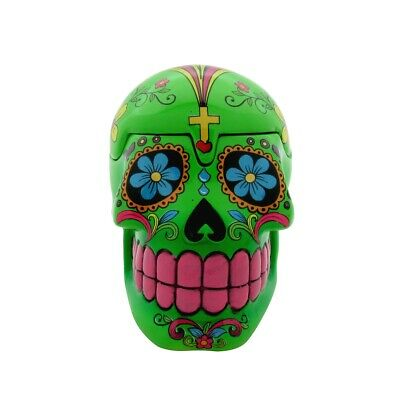 Day of the Dead DOD Sugar Skull Diversion Hidden Stash/Cash Box Secret Storage