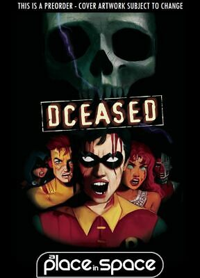 (Wk32) Dceased #4C - Card Stock Horror Variant - Preorder 7Th Aug