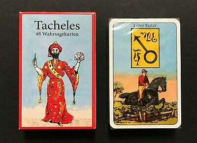 Tacheles Lenormand Fortune Telling Oracle Card Makiel Rouven Marx Germany