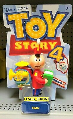 NEW Toy Story 4 Movie *TINNY FIGURE* Disney Pixar One Man Marching Band 2019