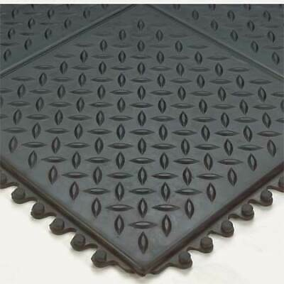 WEARWELL 470 Modular Antifatigue Mat,Black,3ft.x3ft.