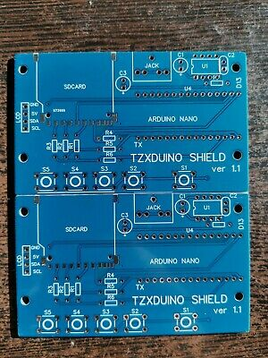 1x PCB TZXDuino Reloaded V1.4 para espectro ZX80 ZX81 Amstrad Timex Sinclair