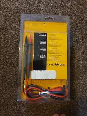 Brand New Fluke 114 True RMS Multimeter and Fluke Test Leads.