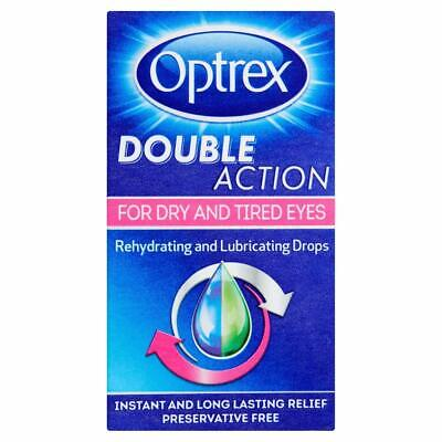 Optrex Double Action For Dry and Tired Eyes - 10 ml - Drops