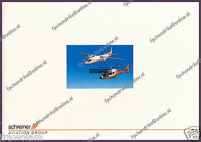 Schreiner Aviation Holland - Corporate Brochure - English 20 Pages 1994 - Mint